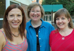 Stephanie with Amy and Susan our new Associate Co-Directors