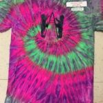 Adult Watermelon Tie-Dye