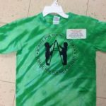 Youth Green Spider Tie-Dye