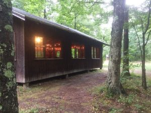 Cabin at Green Mountain Teachers Camp